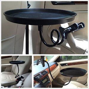 Universal Car Food/Drink 360° Swivel Mount Cup Holder Travel Table Eating Tray