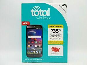 Total Wireless ZTE Zmax CHAMP 4G LTE Prepaid Smartphone (CDMA-V)