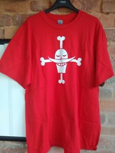 Whitebeard Flag T-Shirt Tee One Piece T Shirt Edward Newgate Manga Anime