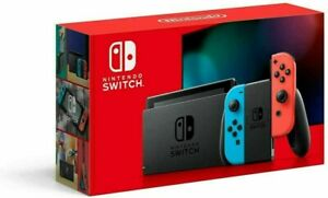 Brand New Nintendo Switch Console - Neon With Improved Battery Neon