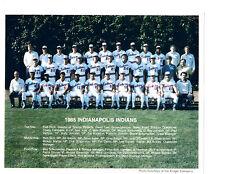 1985 INDIANAPOLIS INDIANS 8X10 TEAM PHOTO BASEBALL INDIANA  ANDRES GALARRAGA