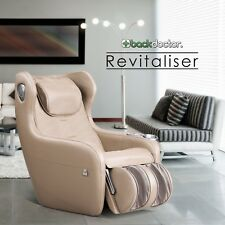 NEW Back Doctor Revitaliser Massage Chair Beige (Fast Free Shipping- 30 Day)