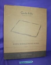 Sur la Table White Solid Marble Pastry Board 16 x 20 In Box