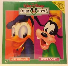Walt Disney's Cartoon Classics Double Feature Donald & Goofy LD New, Sealed