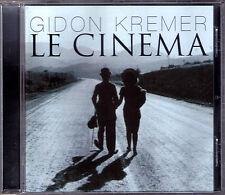 Gidon KREMER LE CINEMA Charlie Chaplin Nino Rota Kancheli Takemitsu Piazzolla CD