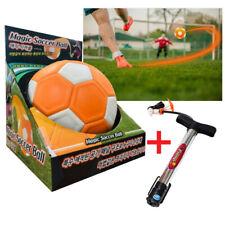 Magic soccer ball +Pump Shooting Ball Trick Shot foot ball spin curve kickerball