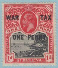 ST HELENA MR1 MINT HINGED OG *   NO FAULTS EXTRA  FINE !