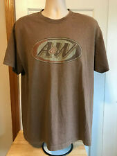 VINTAGE A&W ROOT BEER T SHIRT LARGE