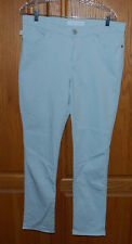 Rock & Republic Berlin Skinny Jeans Ladies Size 14 M Colored Ice Blue Denim