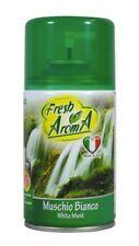 5X Fresh Muschio Bianco  Deodorante Ambiente 250 ml Spray Ricarica Diffusore Aut