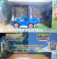 Sonic Colours + Sonic All Stars Racing Super Speed Pack Coffret Jeux Nintendo DS