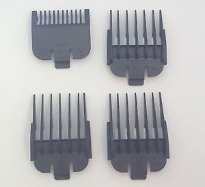 Wahl Clipper Guide Guard Attachment Comb Set 1, 2, 3, 4