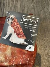 NEW Bootique You're Bacon Me Crazy Dog Halloween Costume Size XS