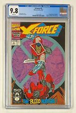 X-FORCE #2 Marvel 1991 CGC 9.8 Deadpool 2nd Appearance Weapon X 1st Appearance