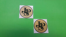 JPS John Player Special F1 team Lotus decals stickers 90mm
