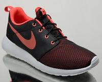 Nike Roshe One SE Men's Black Orange Athletic Casual Lifestyle Sneakers Shoes