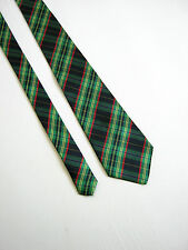 MOR-T-OLA PURASETA PURE SILK TARTAN MADE IN ITALY