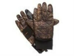 Isotoner Mens Quilted Smart Touch Gloves brown S/M