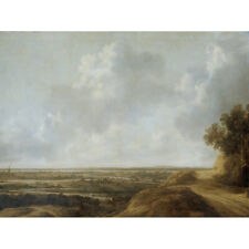 Van Knibbergen Panoramic Landscape Painting Canvas Wall Art Print Poster
