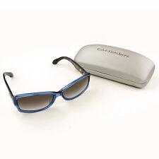 Brand New Calvin Klein Polarized Sunglasses Polycarbonate Blue Fashion