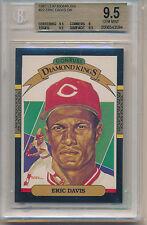 1987 Leaf Eric Davis (Diamond King) (#22) (Population of 2) BGS9.5 BGS