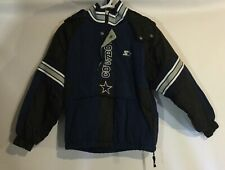 NFL Pro Line Starter Dallas Cowboys Pullover Jacket, M Youth, Half-Zip Broken