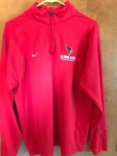 Nike team apparel Illinois State University Redbirds basketball pullover large