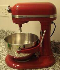 NWOT Red KitchenAid Professional 5 Plus Series 5 Quart Bowl Lift Stand Mixer