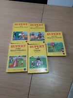 Rupert Little Bear Library Woolworths series by Mary Tourtel x 5 Books