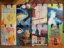 Trader Joe's Reusable 6 Gal Shopping Grocery Tote Bags (choice)