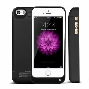 COQUE CHARGEUR BATTERIE EXTERNE HOUSSE SUPPORT IPHONE 4S 5S 5C 6/6S 7/8 4200mAh