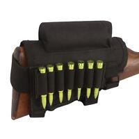 Tactical Rifle Cheek Rest Riser Ammo Holder Buttstock Mag Pouch Shooting-TOURBON