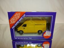 SIKU 1929 MERCEDES BENZ SPRINTER - DEUTSCHE POST AG - 1:55 -  EXCELLENT IN BOX