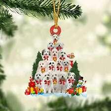 Coton De Tulear-Dog Christmas Tree Ornament