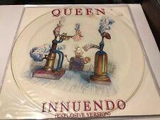 """Queen Innuendo Uk Original 1991 Picture Disc Brilliant Condition 12"""" Pic Disc"""
