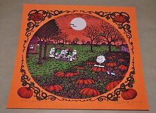 "Marq Spusta ""It's The Great Pumpkin"" Charlie Brown S/N Poster Print - Variant"