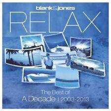 BLANK & JONES - RELAX-THE BEST OF. A DECADE 2003-2013  (2 CD)  DISCO/DANCE NEUF