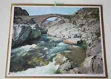 Calendrier almanach PTT 1967 Pont Golo Corse Carte Pyrénées Orientales Andorre