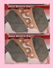 2x Sets  320390 HH Front brake pads Harley Davidson FLHT Electra Glide 00-07