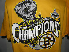 New Boston Bruins 2011 Stanley Cup Champions Bracket Reebok T-Shirt XL (NWOT)