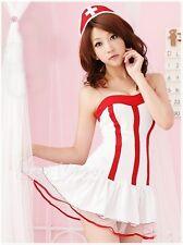 Valentines lingerie donna costume da infermiera 8-12