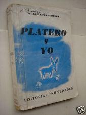 Juan Ramon Jimenez - Platero y Yo - Rara edicion clandestina