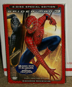 Spider-Man 3 DVD 2-Disc Special Edition With Slipcover