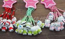 Wholesale Lots 100 Pcs Lucky Bell Mobile Cell Phone Charm New Various Color