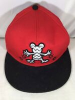 Disney Parks Baseball Cap Hat Mickey Mouse Red Black 1928 Snapback