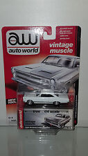 1/64 AUTO WORLD VINTAGE MUSCLE 1966 MERCURY COMET CALIENTE WHITE B32