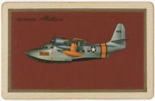Playing Cards Swap Card Old Vintage US Air Sea Rescue GRUMMAN ALBATROSS Plane 2
