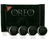 NEW NABISCO OREO LIMITED EDITION GAME OF THRONES COOKIES RARE ON HAND NOW!!!