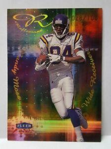 Randy Moss 1999 Fleer Focus Reflexions #7R 028/100 Minnesota Vikings Mint