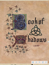 Charmed book of shadows  730 pages  (PDF file)